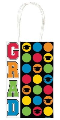 Giving the graduate a special gift for his or her #graduation day? Than this small colorful graduation gift bag is the perfect choice! Only 99 cents from Parties2order.
