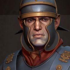 Roman Legionnaire, Alex Malykhin on ArtStation at https://www.artstation.com/artwork/RdxmE