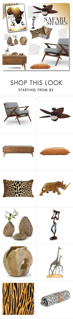 """""""safari shades"""" by limass ❤ liked on Polyvore featuring interior, interiors, interior design, home, home decor, interior decorating, Tommy Bahama, Home Decorators Collection, Regina-Andrew Design and NOVICA"""