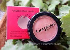 Gorgeous Cosmetics Cheek Creme Blush - Caramel Whip - Review, Swatches
