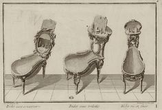 Did you ever wonder what 18th century bidets looked like? Well wonder no more…