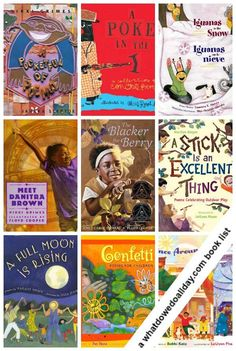 10 Culturally Diverse Poetry Books. April is National Poetry Month!