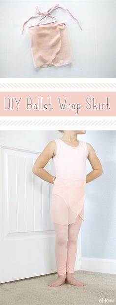Don't spend any money purchasing this simple ballet wrap skirt. This tutorial will show you just how easy it is to make it yourself. So darling! http://www.ehow.com/how_7781437_make-ballet-wrap-skirt.html?utm_source=pinterest.com&utm_medium=referral&utm_content=inline&utm_campaign=fanpage