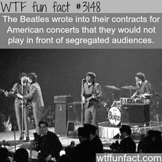 The Beatles and segregated audiences -  WTF fun facts