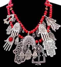 LAYAWAY FOR BRIDGING - Hamsas Khamsas & Red Coral