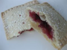 Homemade Pop Tarts/ Few ingredients. easy..and NOT a pop tart...My kids will think i am AMAZING!!!