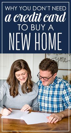 Why You Don't Need a Credit Card to Buy a New Home - great advice for anyone that follows Dave Ramsey!