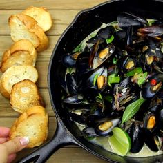 Spice up your mussel game!