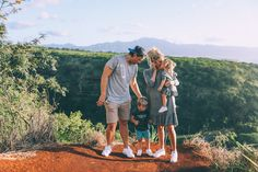 """Taking a Break from """"No"""" - Barefoot Blonde by Amber Fillerup Clark - Family wearing DSW shoes"""