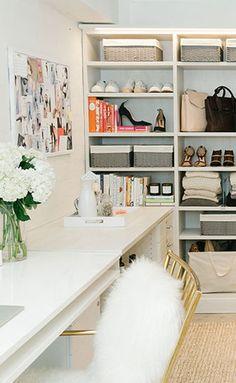 Tips for general closet organization