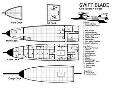 Deck Plans, Fantasy Rpg, Preserves, Boats, Campaign, Gaming, Star Wars, Ships, Geek