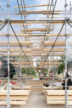 Image result for festival bars made from scaffold