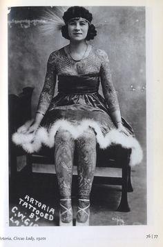 Tattooed lady
