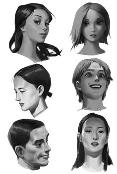 things to draw Character Design References, Character Art, Sketches Tutorial, Digital Painting Tutorials, Face Expressions, Digital Portrait, Art Reference Poses, Painting Process, Art Studies