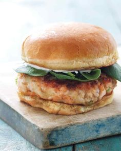 For a flavorful spread for this easy-to-make burger, mix some ...