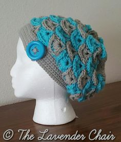 Shelby's Slouchy Beanie - Free Crochet Pattern - The Lavender Chair