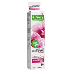 Alterra Anti-Age Augencreme Orchidee - ROSSMANN
