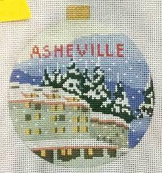 Kirk & Bradley Asheville needlepoint canvas