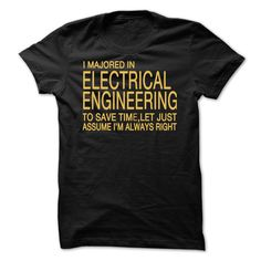 I majored Electrical Engineering T Shirt, Hoodie, Sweatshirt