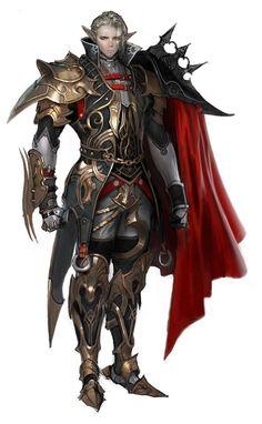 Warrior Concept Art.