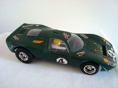 Vintage 1970s Scalextric Model C15 Green Ford Mirage Slot Car by MullardAntiques on Etsy