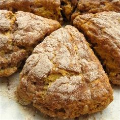 Harvest Pumpkin Scones: step-by-step photos and tips.