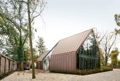 Casa VDV a Destelbergen, Belgio