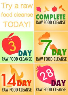 Benefits of doing a raw food cleanse are....
