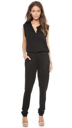 Every lady needs a least one #jumpsuit in her wardrobe. It's a versatile piece that goes from day to date night in a jiffy!! On #sale at @Shopbop!