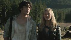 Bellamy Blake and Clarke Griffin || The 100 season 2 episode 16 - Blood must have blood pt 2 || Eliza Jane Taylor and Bob Morley || Bellarke