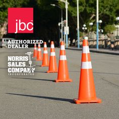 JBC™ Revolution Series Cones are the leader in the traffic safety industry. The black bases are made entirely from recycled materials and Indented handles at the top allow the cones to easily be picked up and stacked. Revolution Series, Safety And Security, Collars, Construction, Technology, Recycled Materials, Industrial, Business, Building