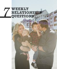 7 weekly questions for every couple! Weekly relationship questions for your husband! Get to know The Happening Housewife and her Happening Househusband in this video of the 7 relationship questions or couples' counseling and staying on track with your love! #husband #couples #relationshipadvice