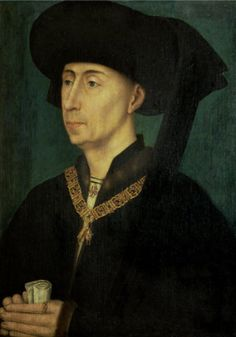 3) FILIPS DE GOEDE / PHILIPPE LE BON  (Dijon 1396 – 1467 Brugge)-  third Duke of Bourgondy (1419 untill 1467). He installed a a quite modern political system that brought extreme prosperity to the Low Countries.