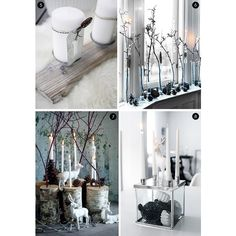 Eye Candy 40 Scandinavian-Style Christmas Decor Ideas Curbly ❤ liked on Polyvore featuring backgrounds