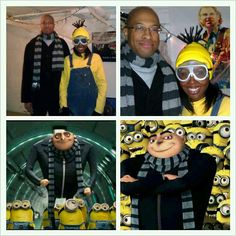Halloween costumes - Despicable Me!! Gru and his minion