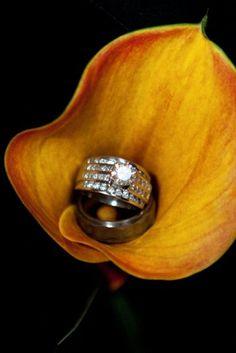 Wedding ring photo idea