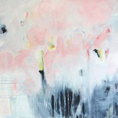 Abstract Art Print Abstract Giclee Print Pink And by Artzaro