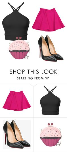"""style for day"" by daellalove on Polyvore featuring Ted Baker, Christian Louboutin and Kate Spade"