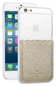 Kate Spade Leather stick-on smartphone pocket | Cool Mom Tech