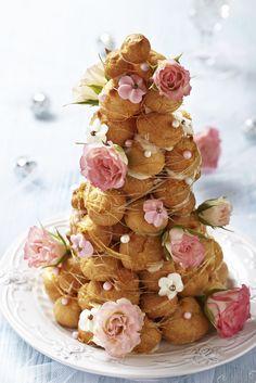 フランスのウェディングケーキ♡美味しくて可愛いクロカンブッシュって??