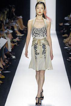 Carolina Herrera Spring 2008 Ready-to-Wear Fashion Show - Du Juan