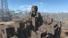 Post with 46 votes and 2115 views. Fallout 4 Tips, Fallout 4 Settlement Ideas, Laughing Jokes, Some Jokes, Fall Out 4, Post Apocalypse, City Buildings, Storytelling, North America