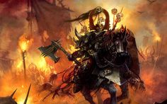 Total War: Warhammer Chaos Warm up! A Faction in the up coming Total War: Warhammer Chaos is a dominate threat in the Warhammer fantasy world so lets get our. Fantasy Armor, Medieval Fantasy, Dark Fantasy, Fantasy Battle, Warhammer Online, Warhammer 40000, Paladin, Warhammer Fantasy Roleplay, Dragons