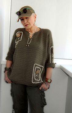 Фотография Crochet Men, Freeform Crochet, Broomstick Lace, Crochet Blouse, Knitting For Kids, Crochet Fashion, Crochet Clothes, Pulls, Crochet Patterns