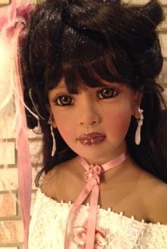 Intelligent Annette Himstedt Puppe Lisa 65 Cm Art Dolls-ooak Top Zustand