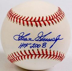 "Goose Gossage Signed Baseball - ""HOF 2008"" Inscription - JSA Certified - Autographed Baseballs by Sports Memorabilia. $131.48. Goose Gossage Signed Baseball - ""HOF 2008"" Inscription.. High quality piece with hologram certification and Certificate of Authenticity. Every item offered by Sportsmemorabilia is guaranteed 100% authentic. You can't beat these stats, which is why Gossage's memorabilia is always popular. High quality signature. Goose Gossage does not often schedule offici..."