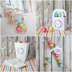 mini apothecary candy jars favor boxes gumball tubes