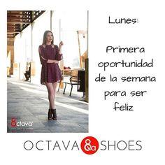 Primera oportunidad de la semana para ser feliz #OctavaShoes #yoamoloszapatos #FrasedelDia #FelizDia #OctavaMx #Exito http://ift.tt/2hcEFC9