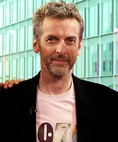 """""""I did three daft scenes"""", Moffat said, """"and they weren't really intended to be any attempt at a twelfth Doctor. They were just nonsense, because one of the things you're going to have to do is be able to talk absolute insanity as if you really mean it. Unlike Peter said, he was fantastic. Obviously it's him. He's been rehearsing in his bedroom since the age of four!"""""""