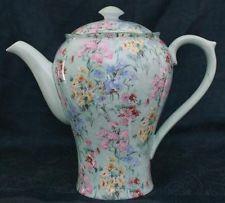 Superb Rare Vintage Shelley Melody Chintz  Coffee Pot